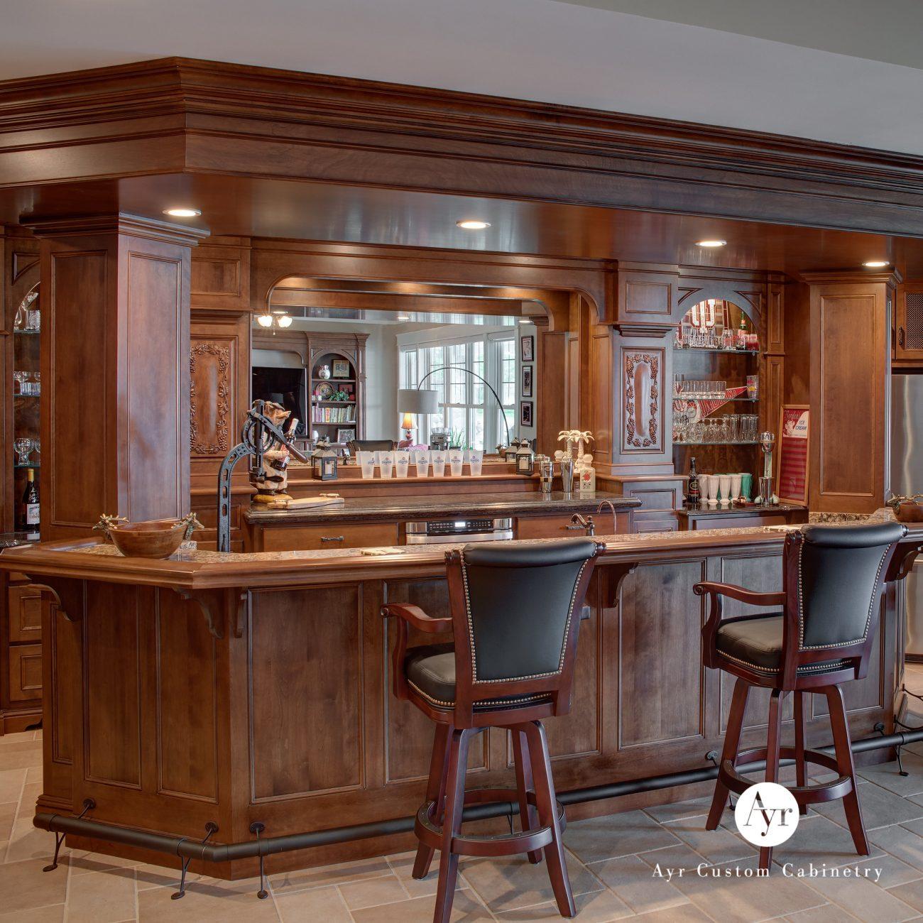 custom bar cabinets, product spotlight