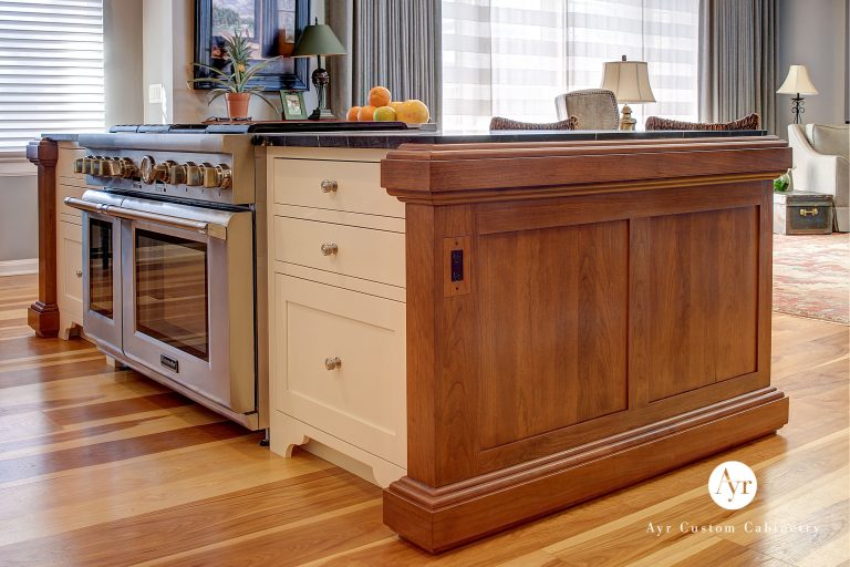 custom cabinets kitchen island in south bend indiana
