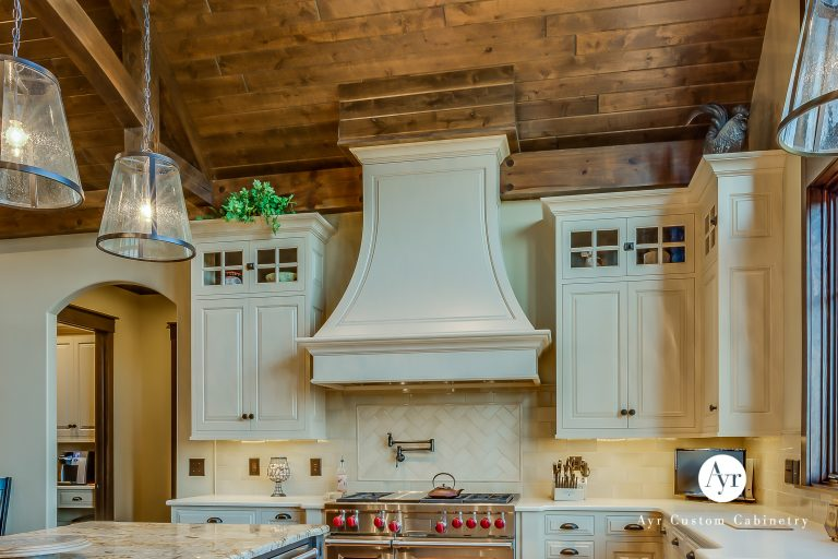 custom cabinets oven hood in south bend indiana