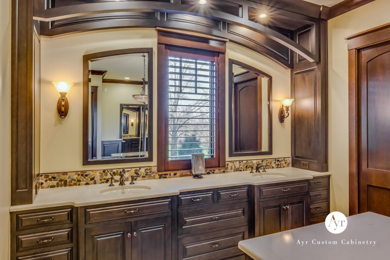 custom cabinets for bathroom in south bend indiana