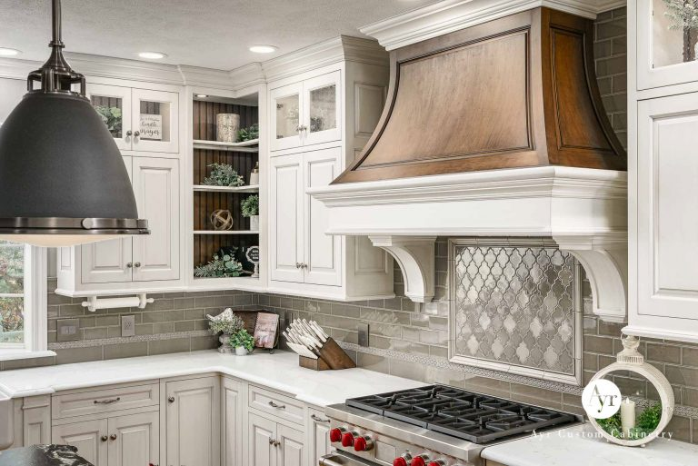 beautiful custom kitchen hood