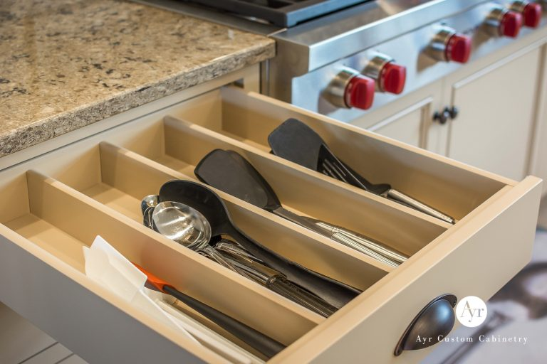 custom kitchen pull out drawers