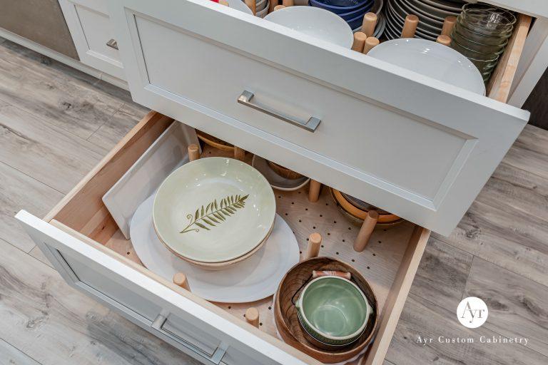 custom cabinet shelves