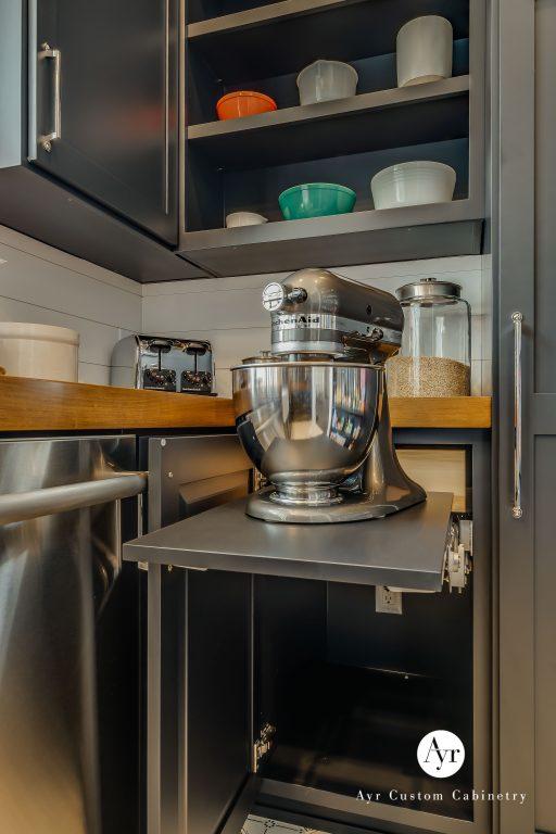 shelves for kitchen equipment