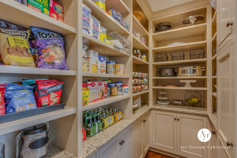 custom kitchen pantry cabinets in bremen, indiana