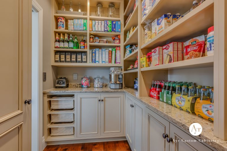 custom pantry cabinets in bremen, indiana