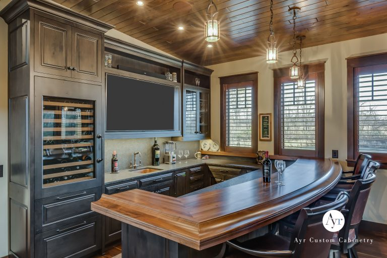 custom bar cabinets in south bend, indiana