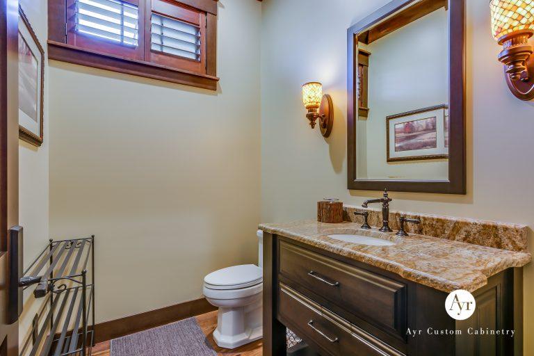 custom bath cabinets in south bend