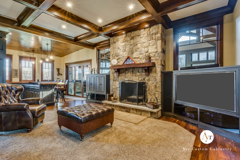 custom entertainment cabinets in south bend, indiana