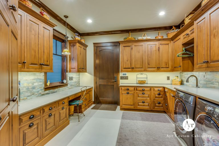 custom laundry cabinets in south bend, indiana