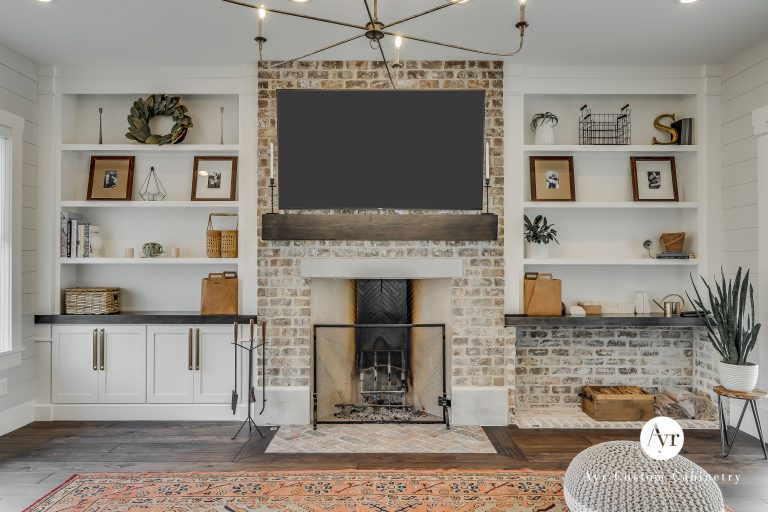 custom entertainment center in middlebury, indiana