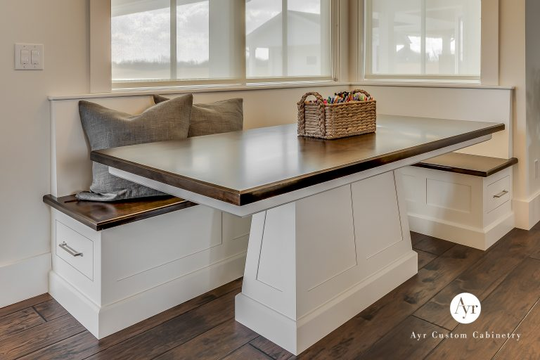 custom kitchen table: cabinets in middlebury, indiana