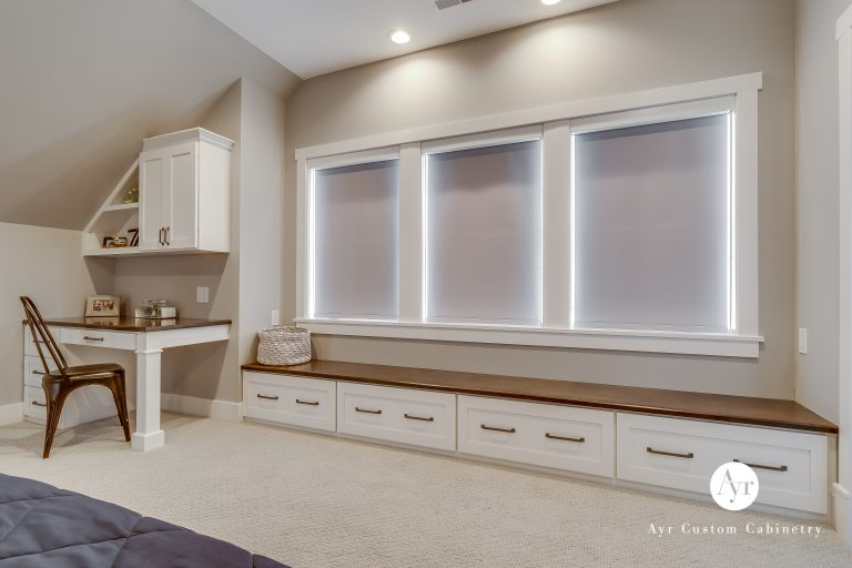 custom library cabinets in middlebury, indiana