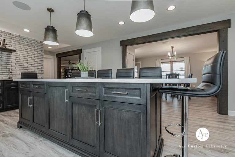 custom kitchen cabinets in nappanee, in