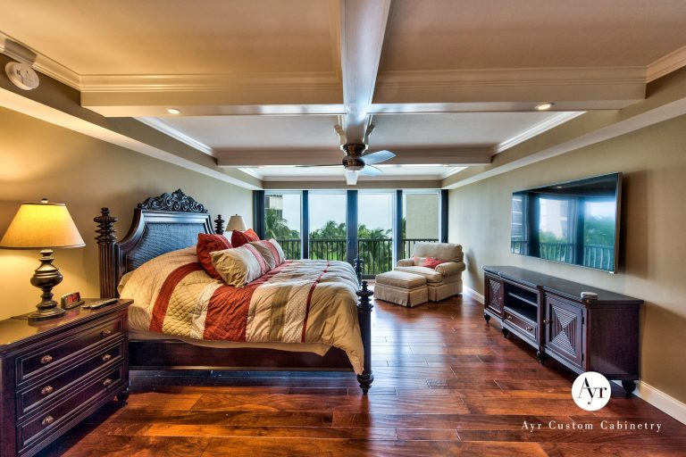 custom bedroom cabinets in naples, florida