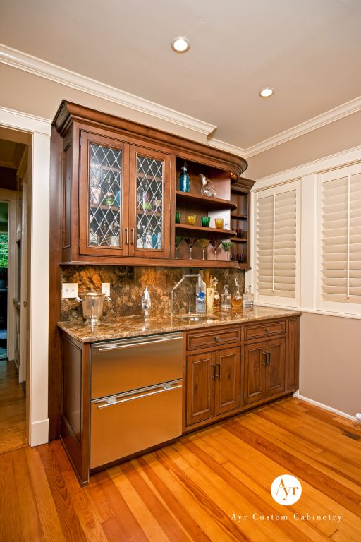 custom bar cabinets in south bend