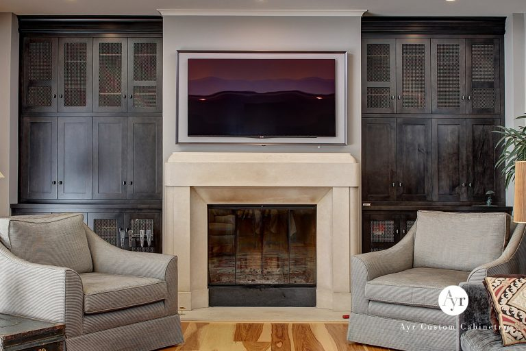 custom entertainment cabinets in south bend
