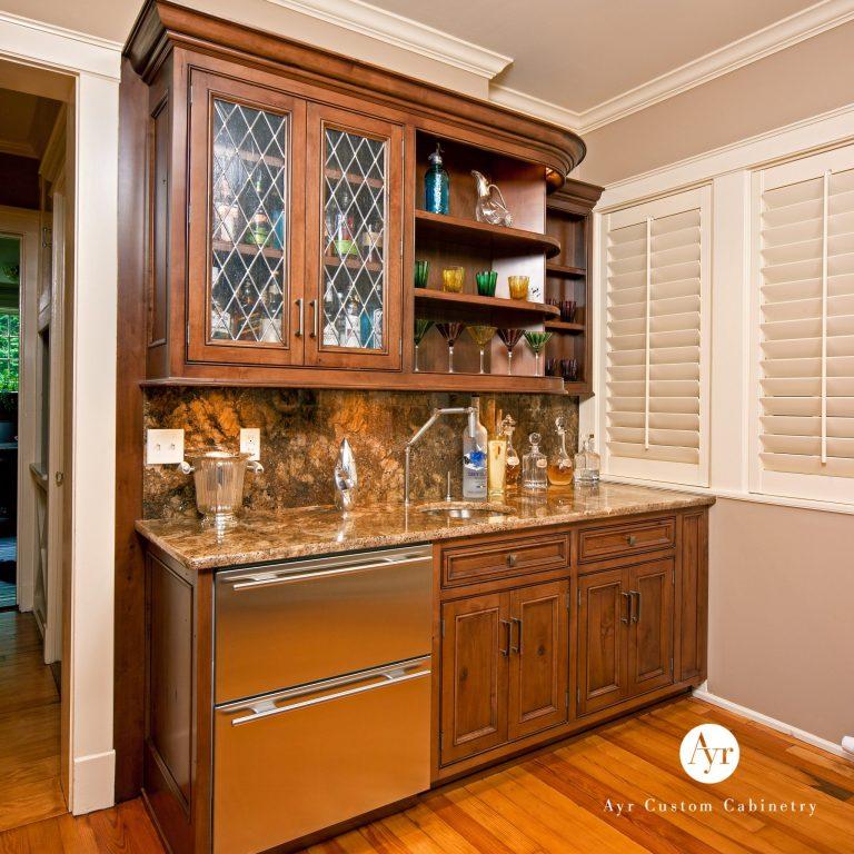custom bar cabinets, gallery photo 2