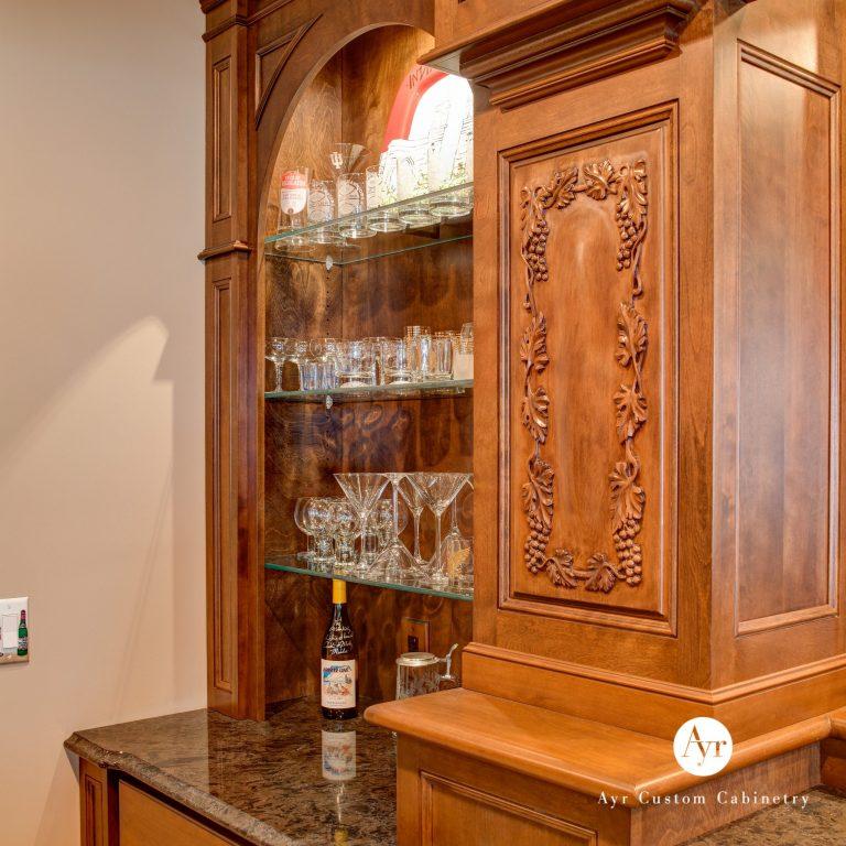 custom bar cabinets, gallery photo 4