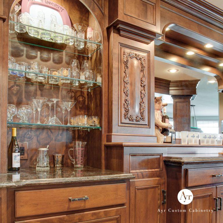 custom bar cabinets, gallery photo 5