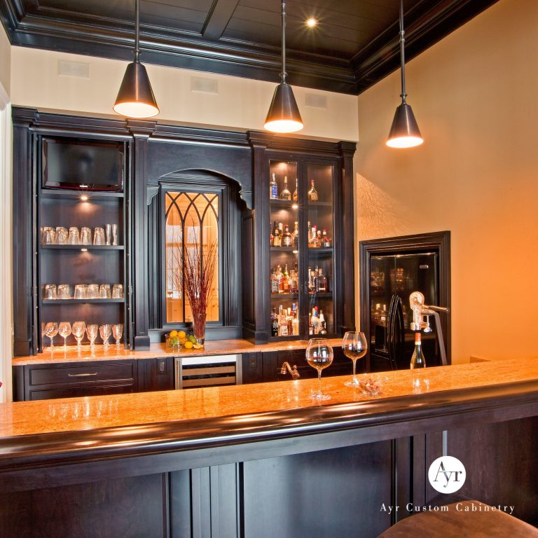 custom bar cabinets, gallery photo