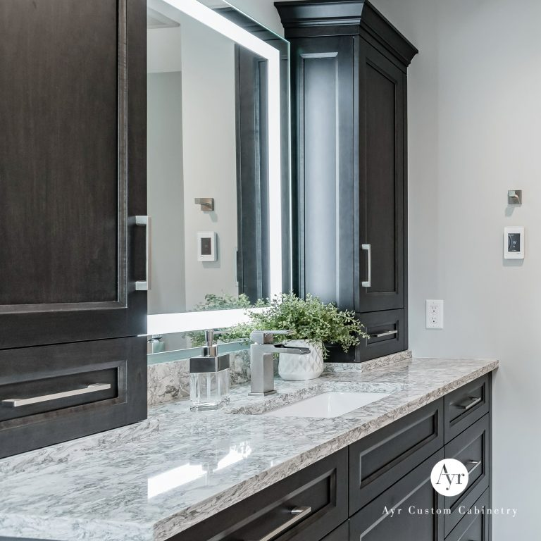 custom bathroom cabinets, gallery photo 13