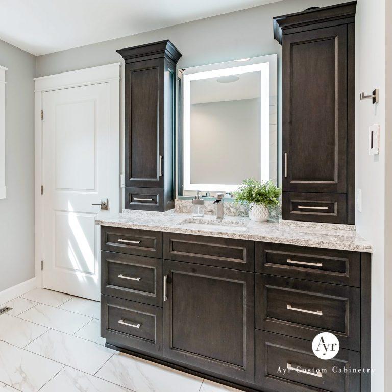 custom bathroom cabinets, gallery photo 2