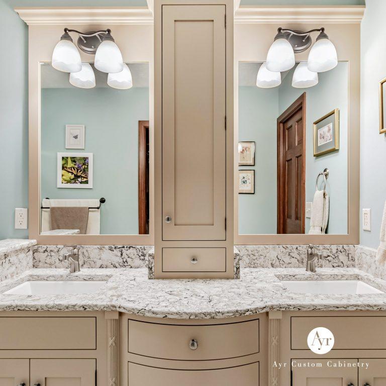 custom bathroom cabinets, gallery photo 1