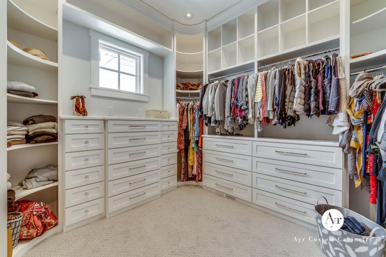 custom bedroom & closet cabinet photos, 10