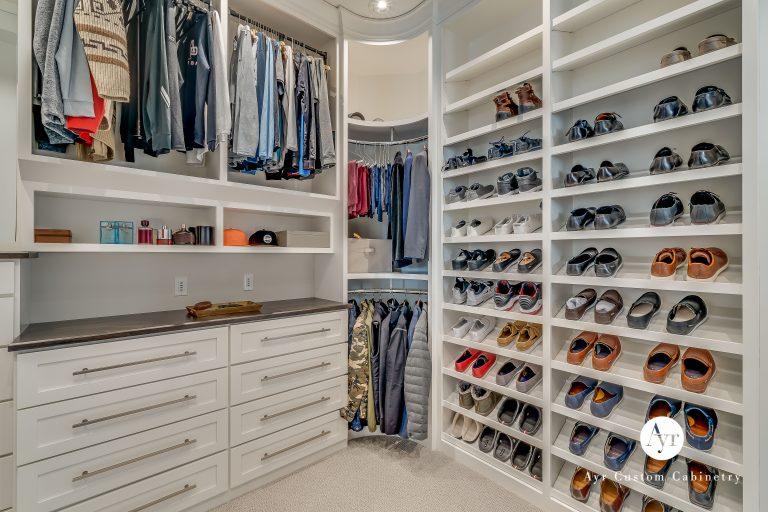 custom bedroom & closet cabinet photos 11