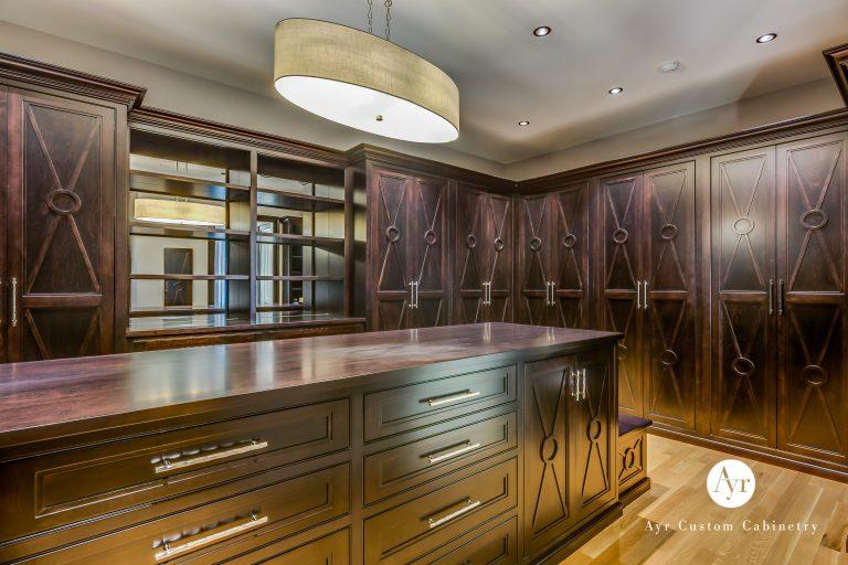 custom bedroom & closet cabinet photos 4