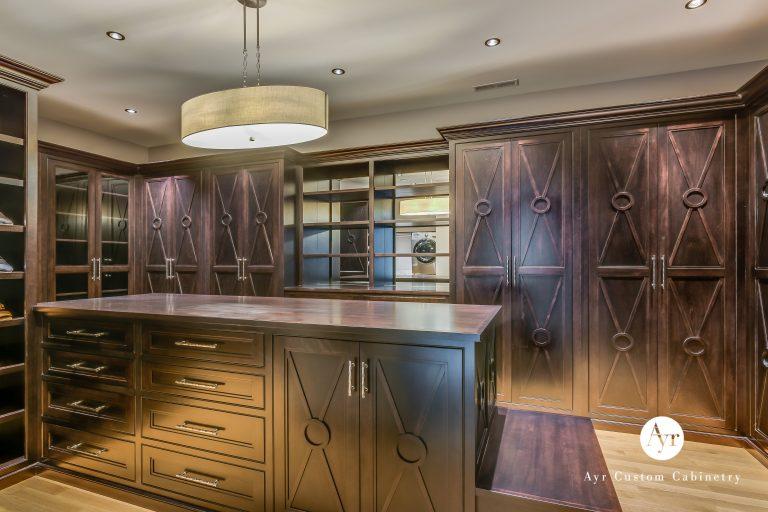 custom bedroom & closet cabinet photos 5
