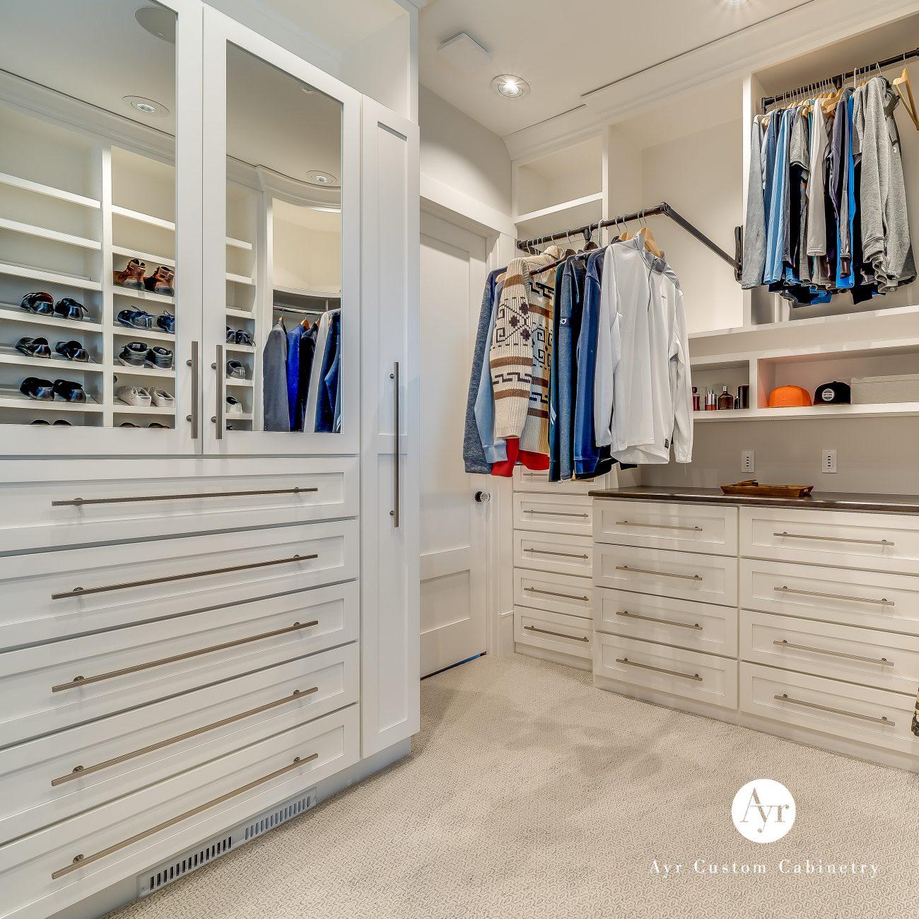 custom closet cabinets staley project
