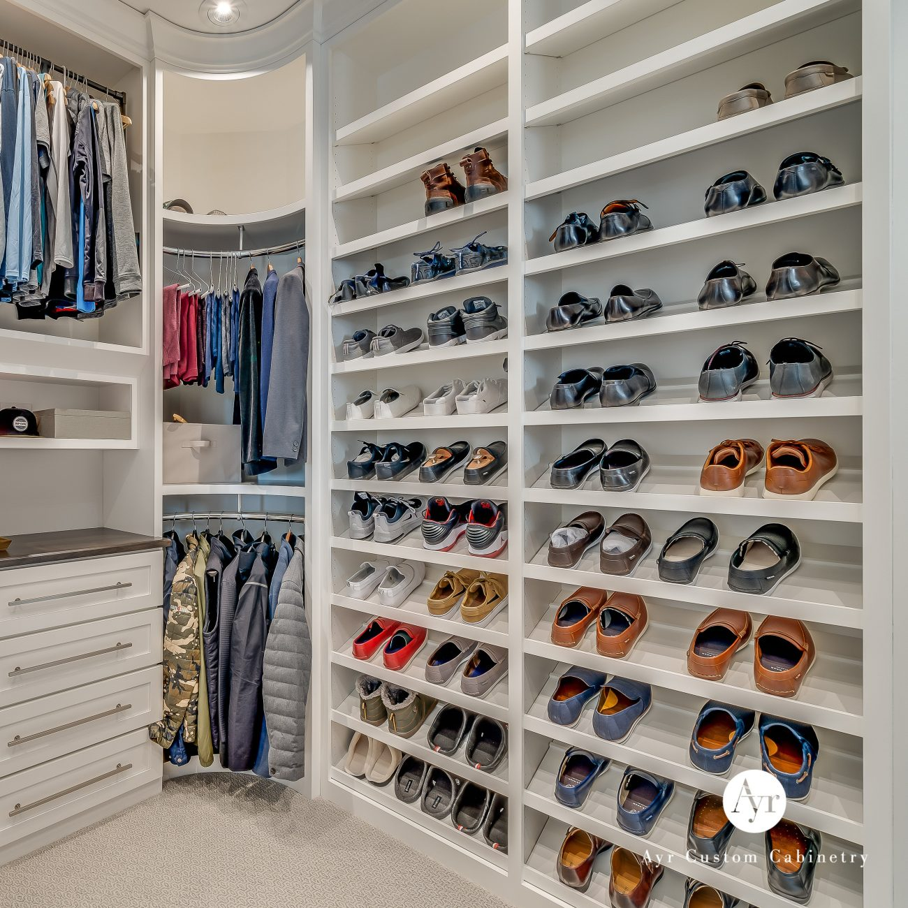 custom closets cabinets staley project