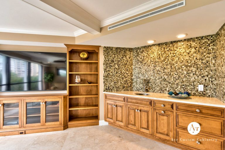 custom entertainment cabinets