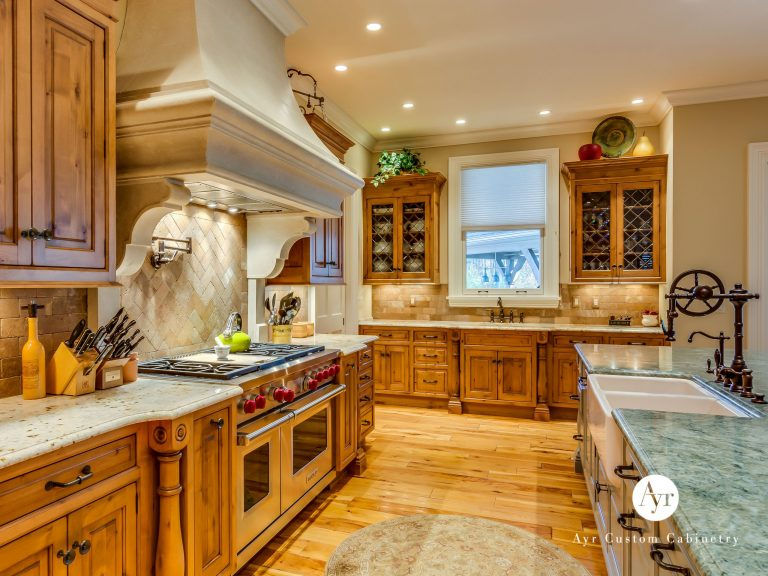 custom high end kitchen cabinets