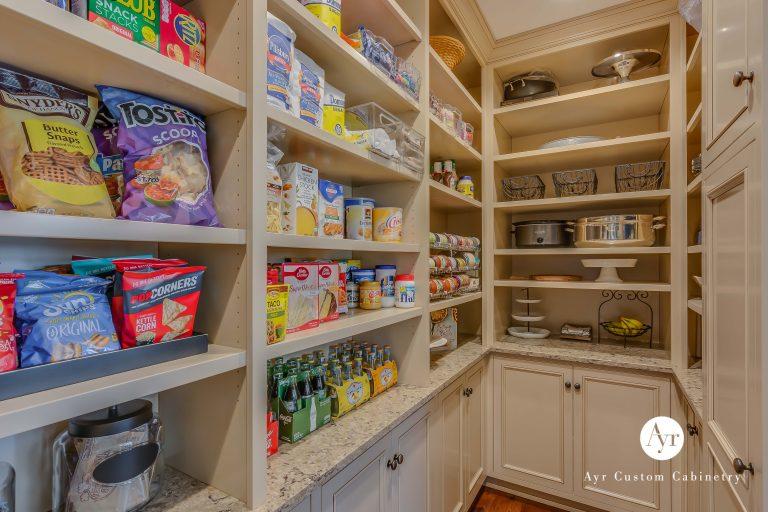 custom kitchen pantry cabinets