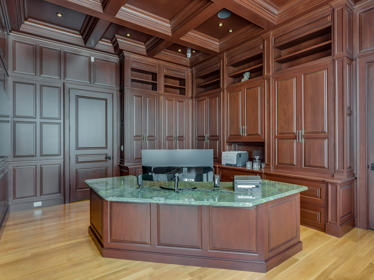 custom office cabinets, featured image 2
