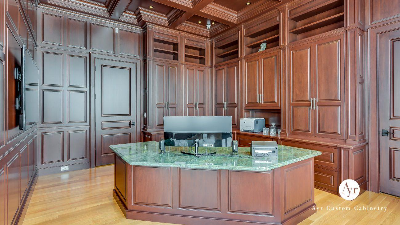 custom office cabinets tehrani project