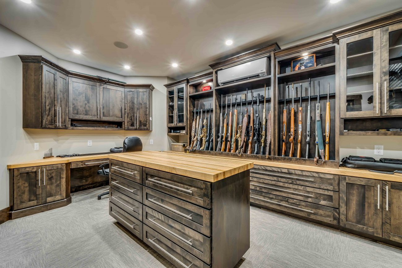 custom gun cabinets for your home