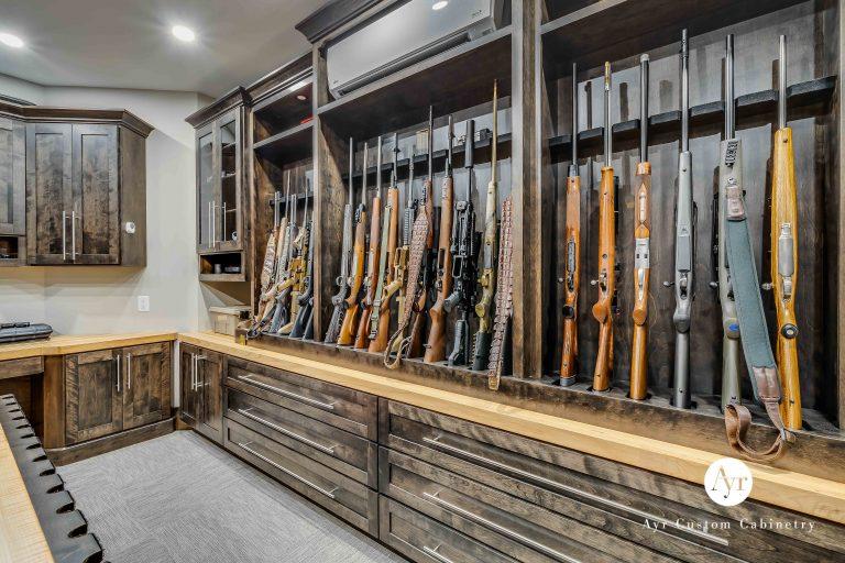 custom full room gun cabinets