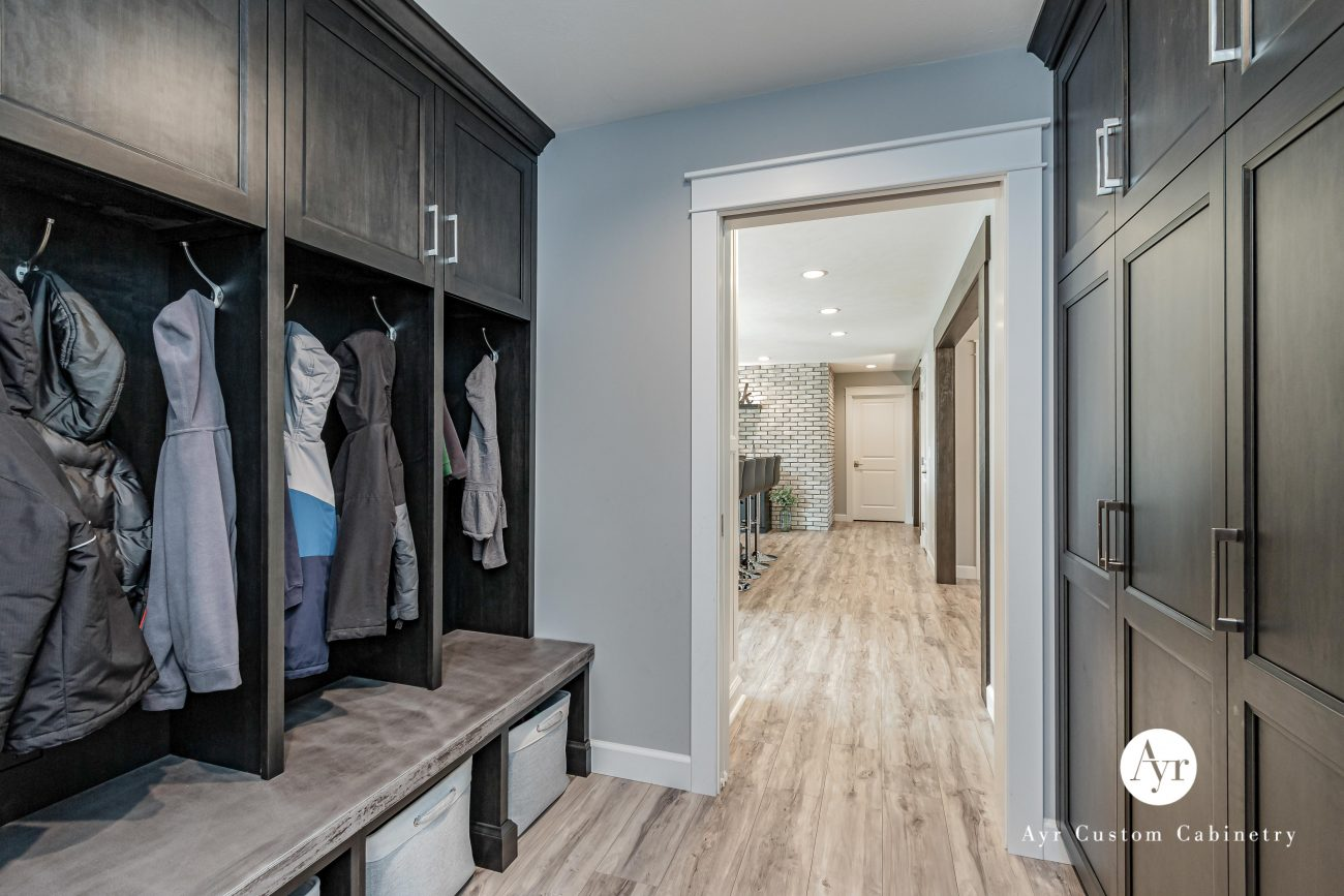 mudroom cabinetry in nappanee indiana