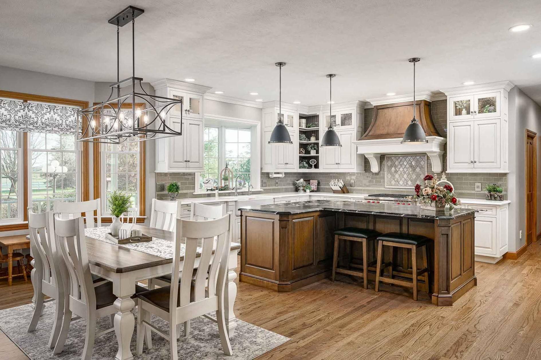 beautiful kitchen custom cabinetry